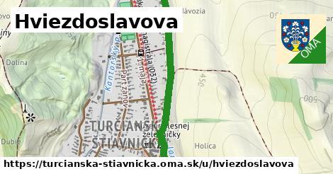 ilustrácia k Hviezdoslavova, Turčianska Štiavnička - 697m