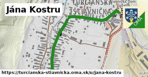 ilustrácia k Jána Kostru, Turčianska Štiavnička - 0,72km