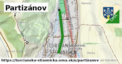 ilustrácia k Partizánov, Turčianska Štiavnička - 511m