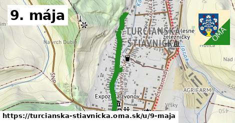 ilustrácia k 9. mája, Turčianska Štiavnička - 693m