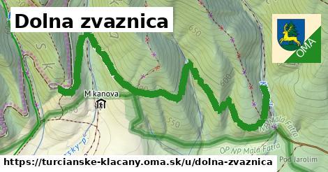 ilustrácia k Dolna zvaznica, Turčianske Kľačany - 1,62km