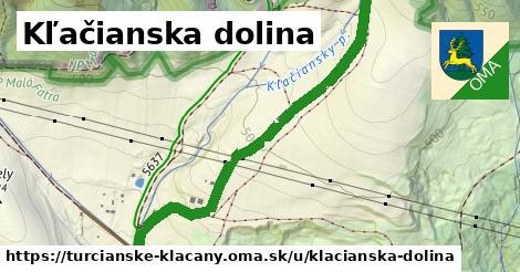 ilustrácia k Kľačianska dolina, Turčianske Kľačany - 1,90km