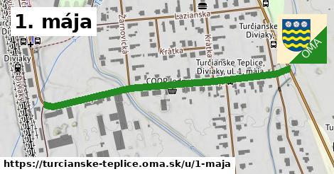 ilustrácia k 1. mája, Turčianske Teplice - 554m