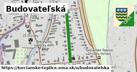 ilustrácia k Budovateľská, Turčianske Teplice - 285m