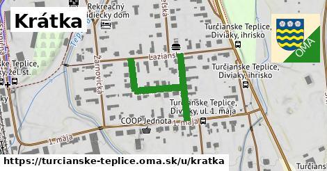 ilustrácia k Krátka, Turčianske Teplice - 337m