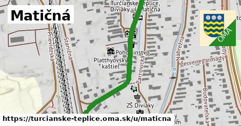ilustrácia k Matičná, Turčianske Teplice - 474m