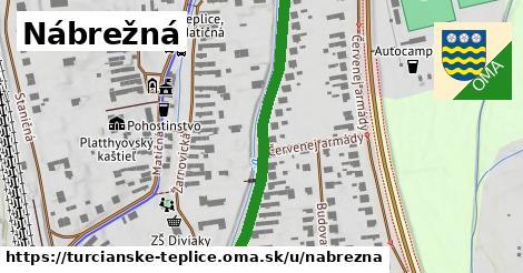 ilustrácia k Nábrežná, Turčianske Teplice - 486m