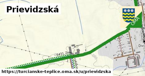 ilustrácia k Prievidzská, Turčianske Teplice - 591m