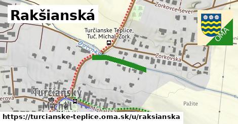 ilustračný obrázok k Rakšianská, Turčianske Teplice