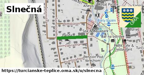 ilustrácia k Slnečná, Turčianske Teplice - 155m