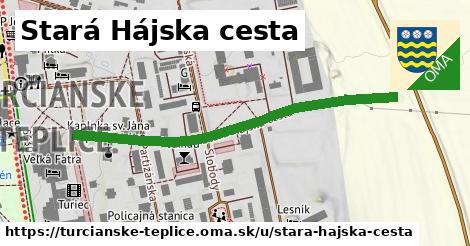 ilustračný obrázok k Stará Hájska cesta, Turčianske Teplice
