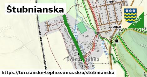 ilustrácia k Štubnianska, Turčianske Teplice - 513m