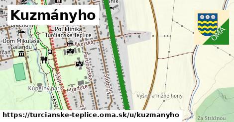 ilustrácia k Kuzmányho, Turčianske Teplice - 1,04km