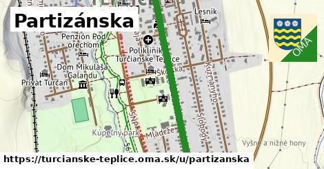 Partizánska, Turčianske Teplice