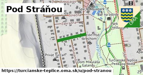 ilustrácia k Pod Stráňou, Turčianske Teplice - 151m