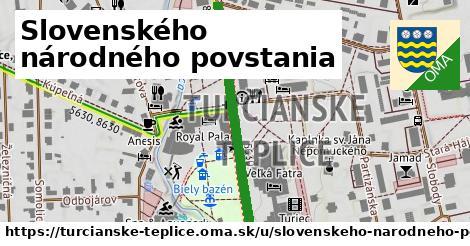 ilustrácia k Slovenského národného povstania, Turčianske Teplice - 394m