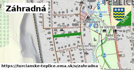 ilustrácia k Záhradná, Turčianske Teplice - 154m