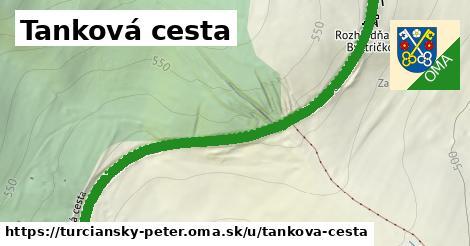 ilustrácia k Tankova cesta, Turčiansky Peter - 0,70km