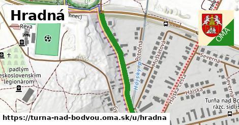 ilustrácia k Hradná, Turňa nad Bodvou - 332m