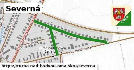 ilustrácia k Severná, Turňa nad Bodvou - 578m
