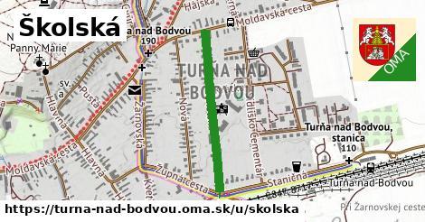ilustračný obrázok k Školská, Turňa nad Bodvou