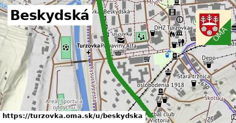 ilustrácia k Beskydská, Turzovka - 438m