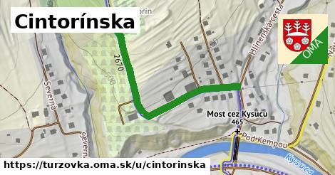 ilustrácia k Cintorínska, Turzovka - 426m