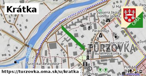 ilustrácia k Krátká, Turzovka - 163m