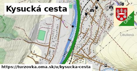 ilustračný obrázok k Kysucká cesta, Turzovka