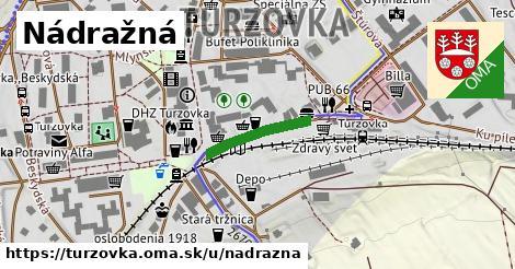 ilustrácia k Nadrazna, Turzovka - 155m