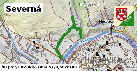 ilustrácia k Severna, Turzovka - 0,74km