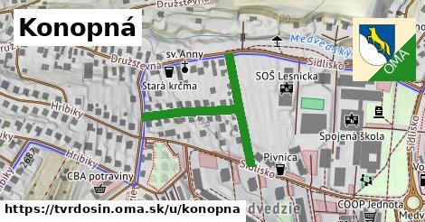 ilustrácia k Konopná, Tvrdošín - 368m