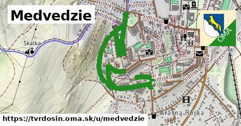 ilustrácia k Medvedzie, Tvrdošín - 3,5km