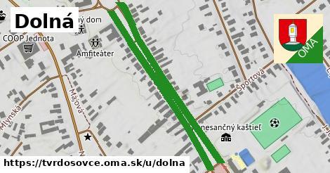 ilustrácia k Dolná, Tvrdošovce - 0,86km