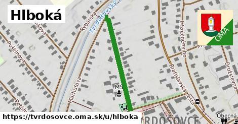 ilustrácia k Hlboká, Tvrdošovce - 311m