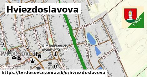 ilustrácia k Hviezdoslavova, Tvrdošovce - 305m