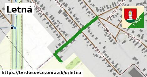 ilustrácia k Letná, Tvrdošovce - 317m