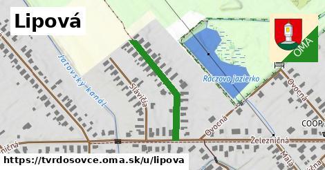 ilustrácia k Lipová, Tvrdošovce - 267m