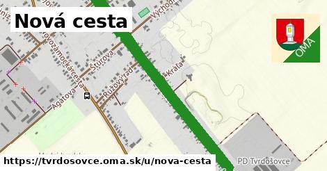 ilustrácia k Nová cesta, Tvrdošovce - 2,0km