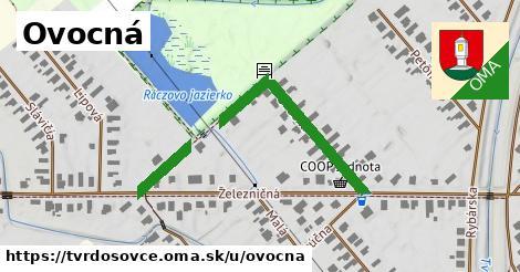 ilustrácia k Ovocná, Tvrdošovce - 306m