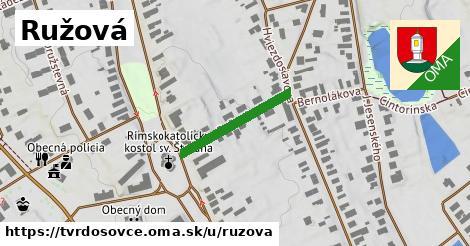 ilustrácia k Ružová, Tvrdošovce - 198m