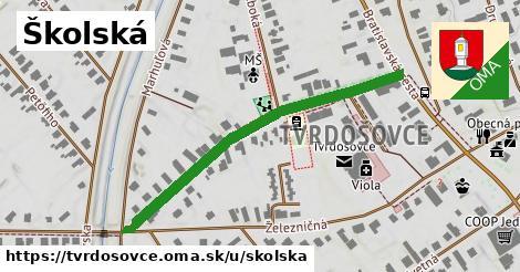 ilustrácia k Školská, Tvrdošovce - 468m