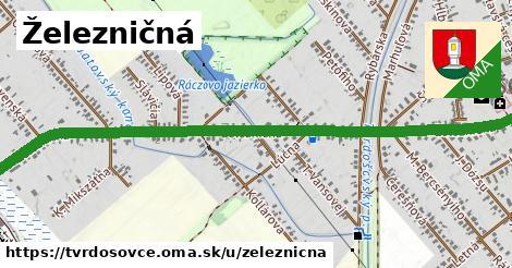 ilustrácia k Železničná, Tvrdošovce - 1,80km