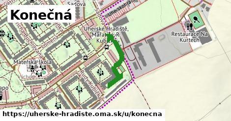 ilustrácia k Konečná, Uherské Hradiště - 249m