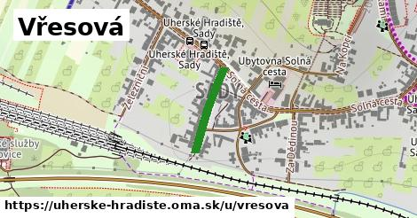ilustrácia k Vřesová, Uherské Hradiště - 159m