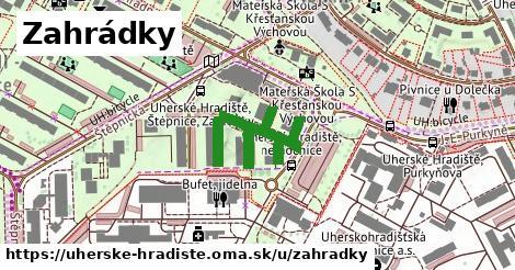 ilustrácia k Zahrádky, Uherské Hradiště - 294m