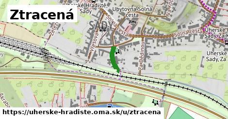 ilustrácia k Ztracená, Uherské Hradiště - 85m