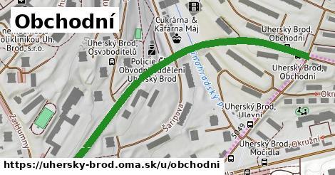 ilustrácia k Obchodní, Uherský Brod - 0,73km