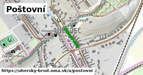 ilustrácia k Poštovní, Uherský Brod - 127m