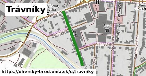 ilustrácia k Trávníky, Uherský Brod - 292m